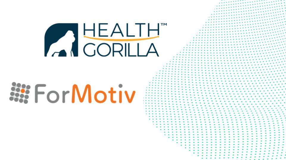 Health Gorilla and ForMotiv Announce Strategic Partnership to Deliver Predictive Behavioral Intelligence Technology to Life Insurers