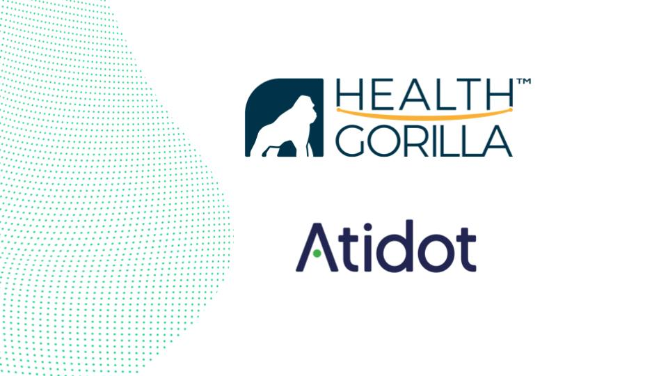 Health Gorilla Partners with Atidot to Provide Aggregated and Actionable Healthcare Data