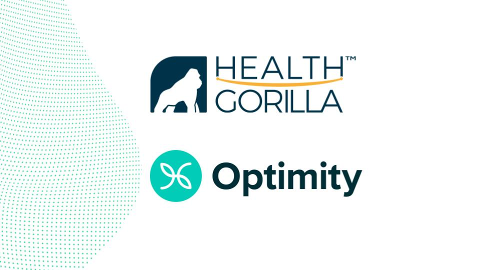 Health Gorilla and Optimity Partner to Enhance Underwriting, Risk Assessment, and Customer Engagement