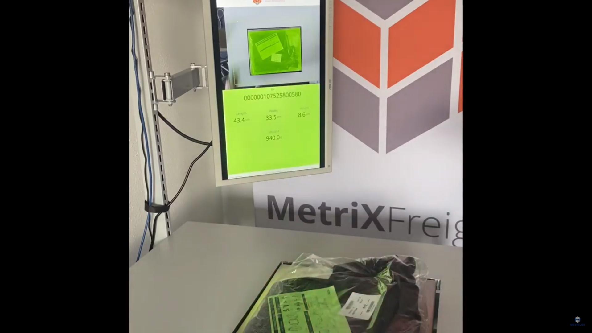 MetriXFreight S 110 - Textile Example