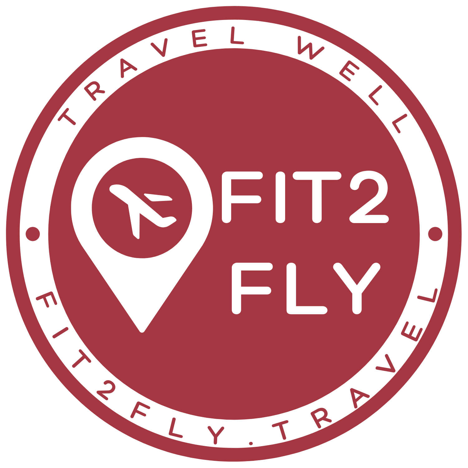 Fit2Fly round logo