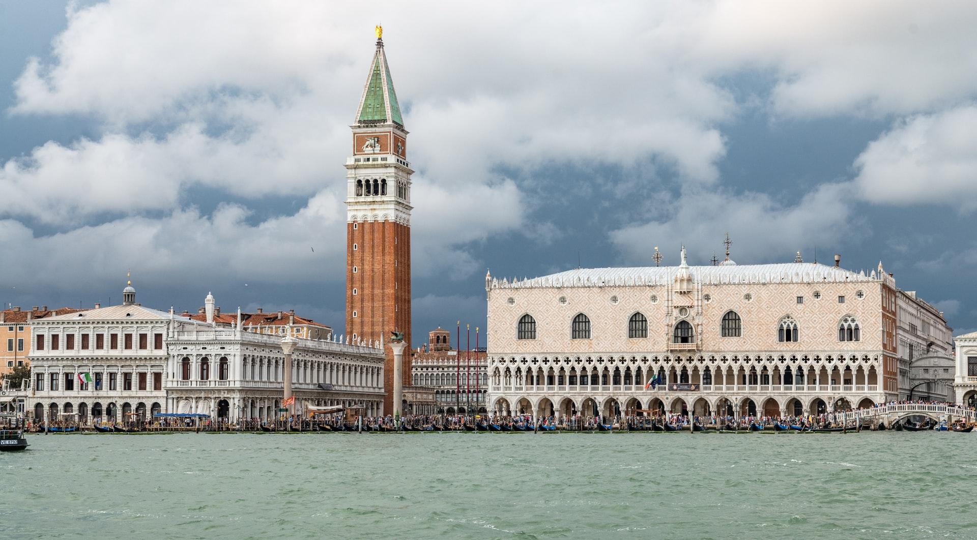 Photographie couleur de la ville de Venise