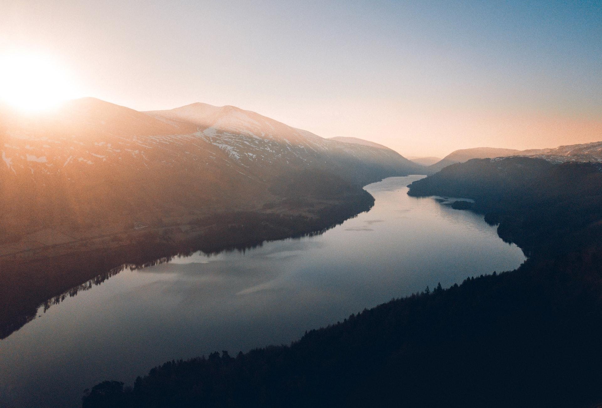 Photographie d'un fleuve