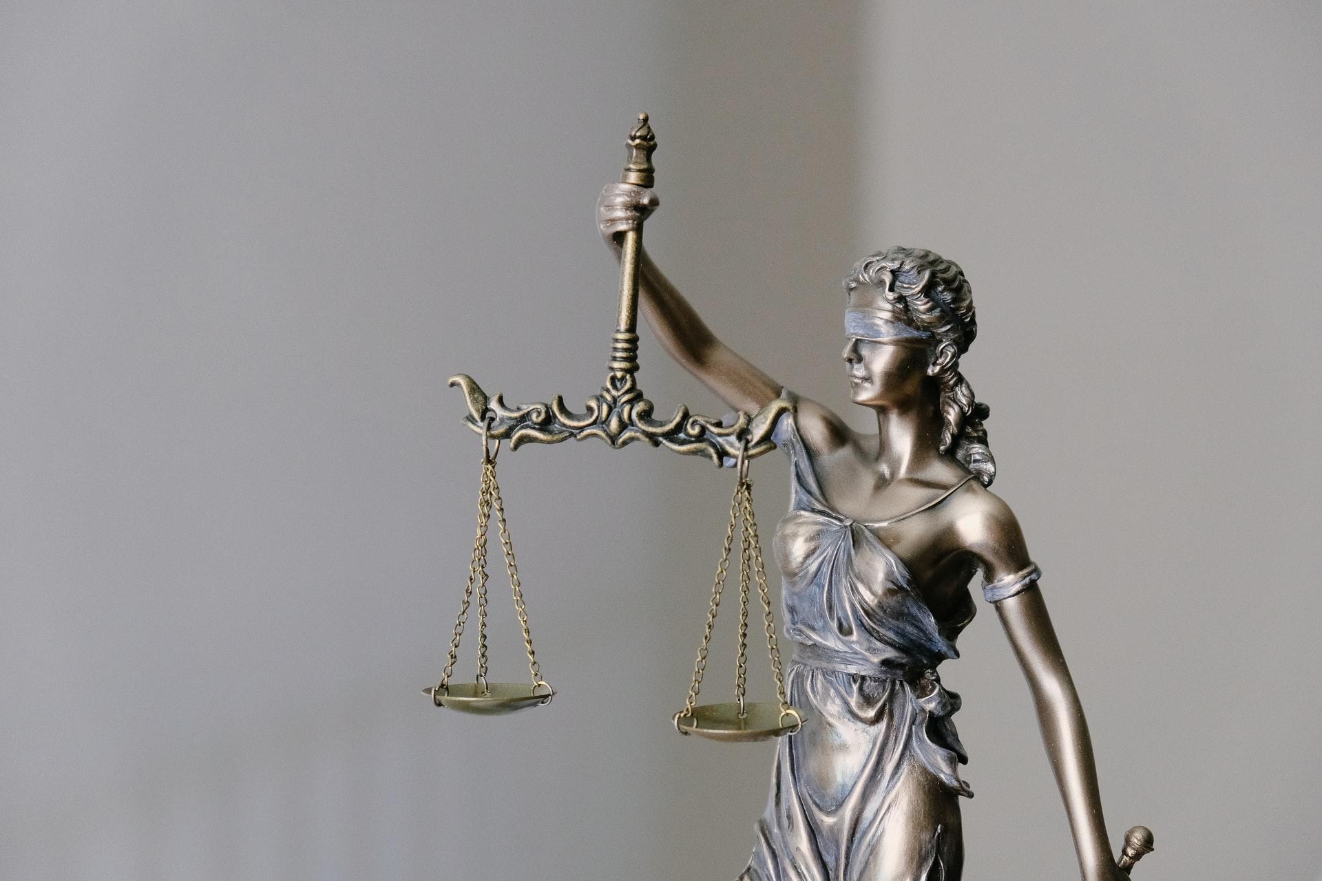 Photographie de la justice