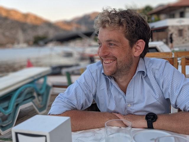 A picture of Joe Rinaldi Johnson in Turkey