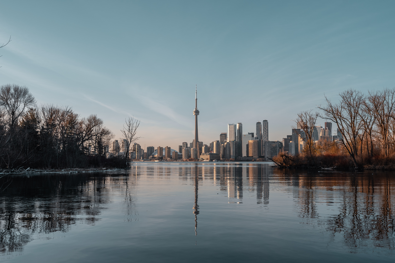 Toronto amidst nature