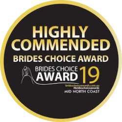 highly commended - brides choice awards