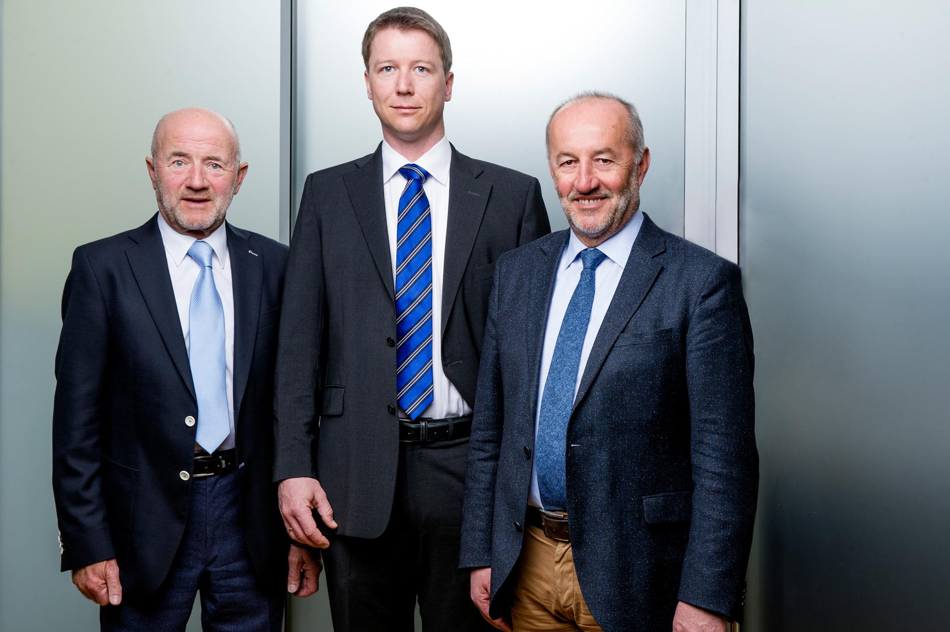 Johan Hitzfelder, Stefan Hitzfelder, Franz Pillichshammer