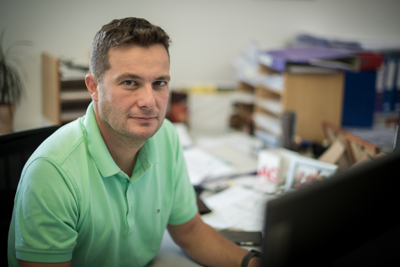 Bereichsleiter Infrastruktur- und Instandhaltungsmanagement Bernhard Resch HIPI ZT GmbH
