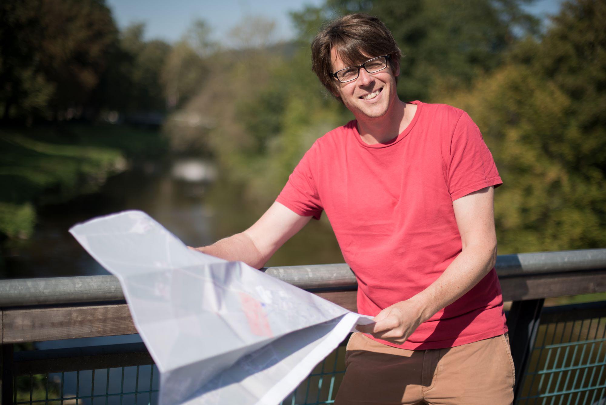 DI Dr. Alexander Debene ist Spezialist für Flussbau. Er berechnete, ob das Projekt an der Traun überhaupt funktionieren kann. HIPI ZT GmbH