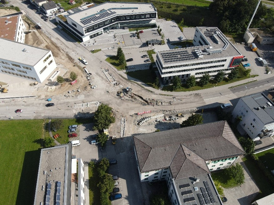 Kreisverkehr Bildungscampus