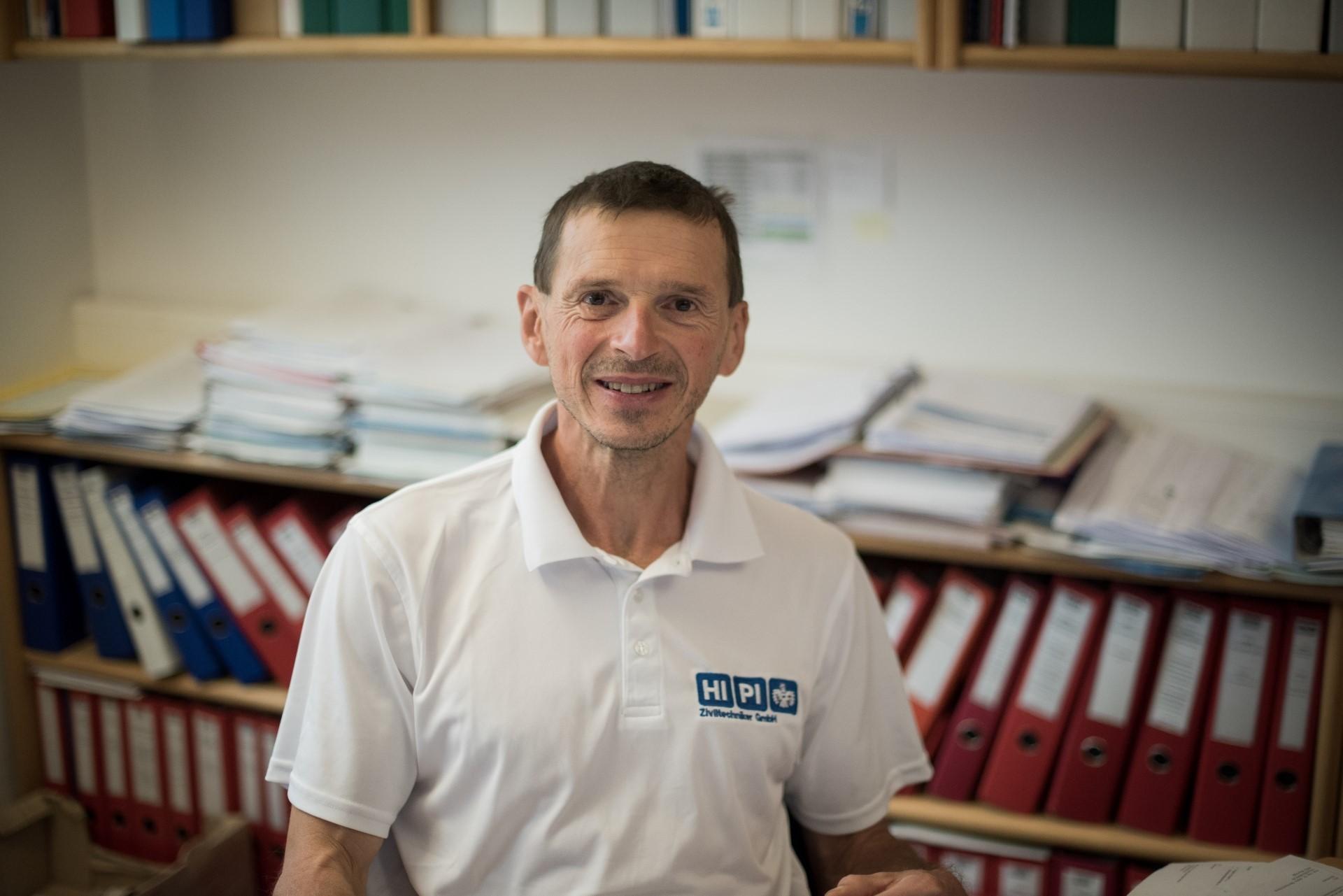 DI Walter Perathoner ist Bereichsleiter für Abwasserentsorgung und Abwasserreinigung im Büro Ziviltechniker HIPIin Vöcklabruck.