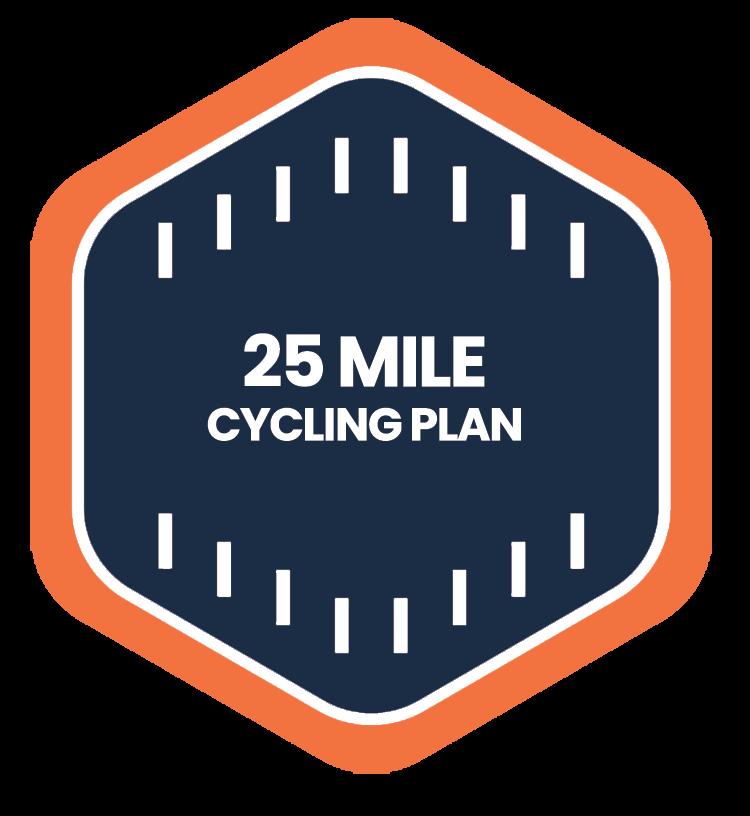 25 Mile Badge