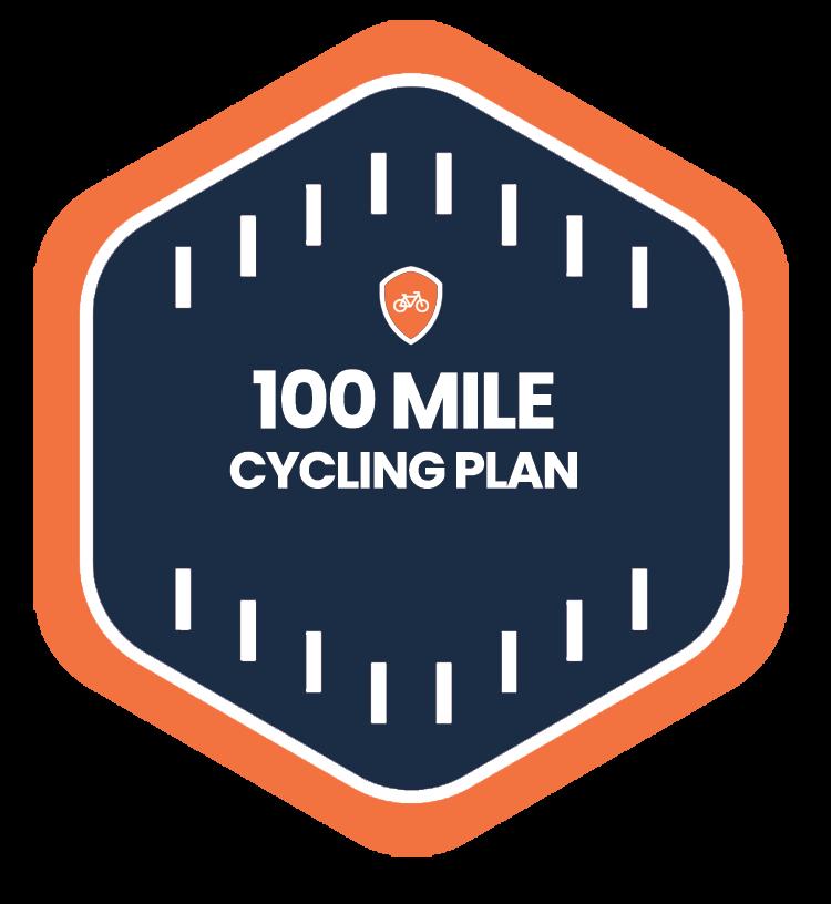 100 Mile Badge