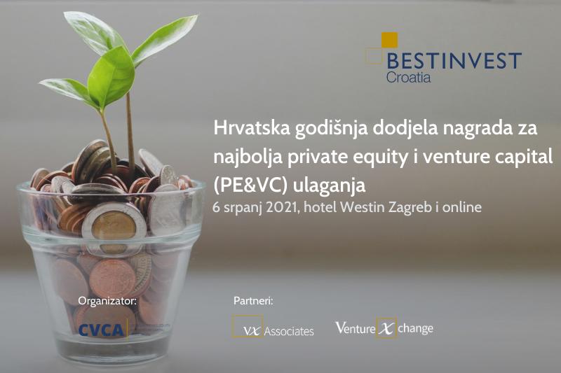 Hrvatska godišnja dodjela nagrada za najbolja private equity i venture capital (PE&VC) ulaganja