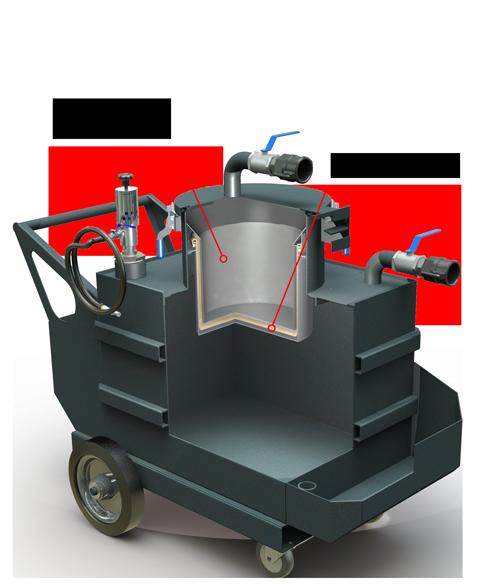 Aspirador Limpador de Tanques - ALT 200