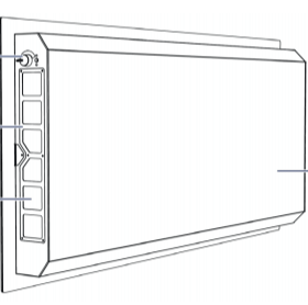 Technical drawing Lynatox air purifier