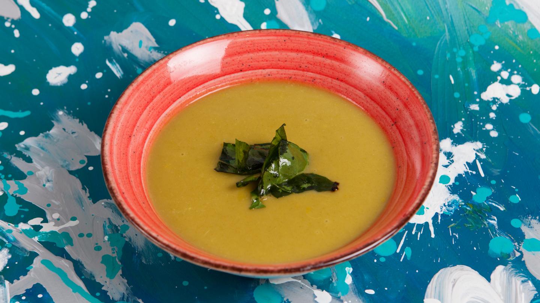 Chard creamy soup