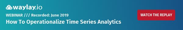 Time series analytics