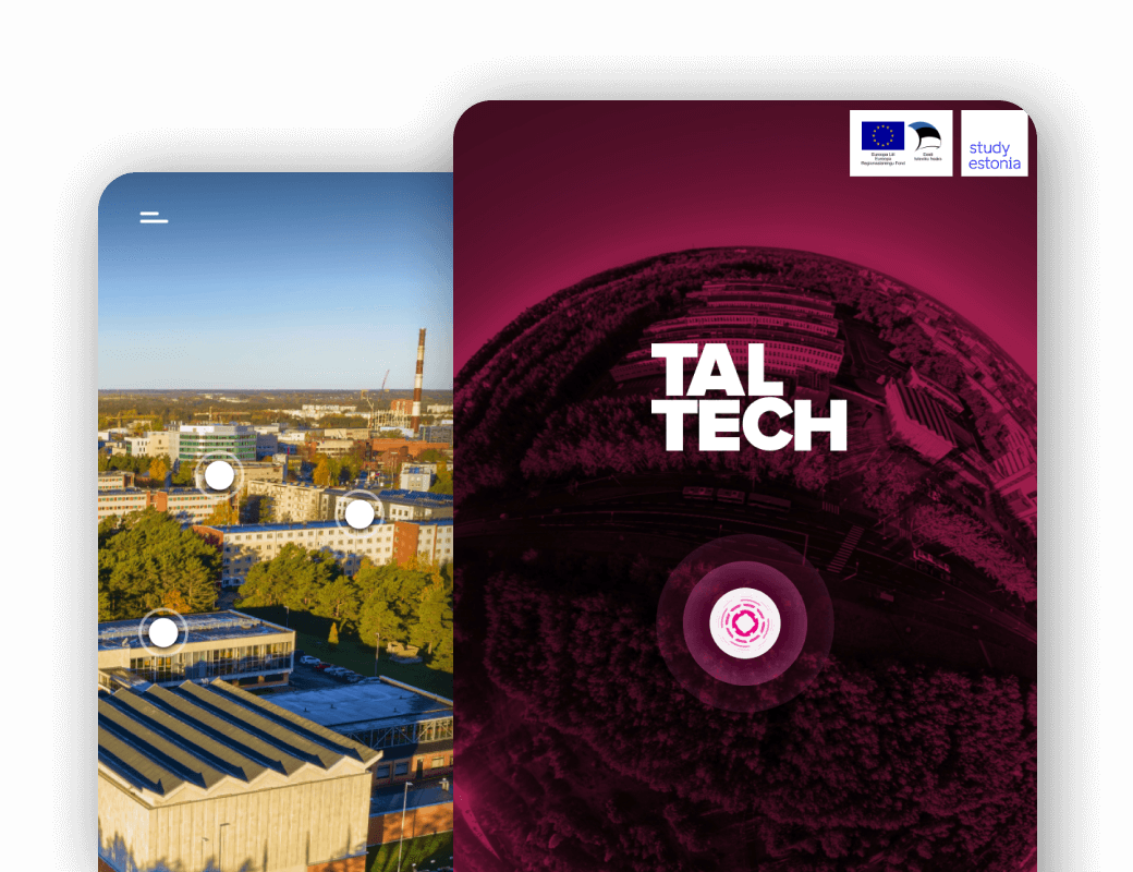 TalTech's Virtual Tour UX/UI Design and Animation