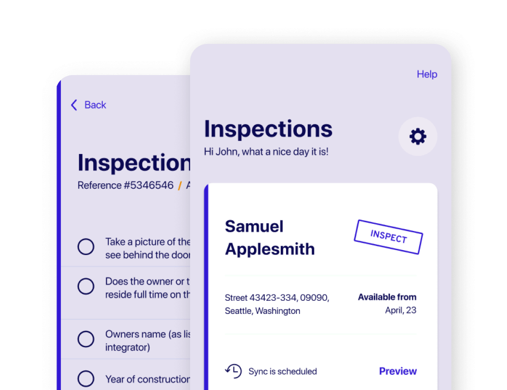 XBQ's Insurance Software and iOS App UX/UI Design