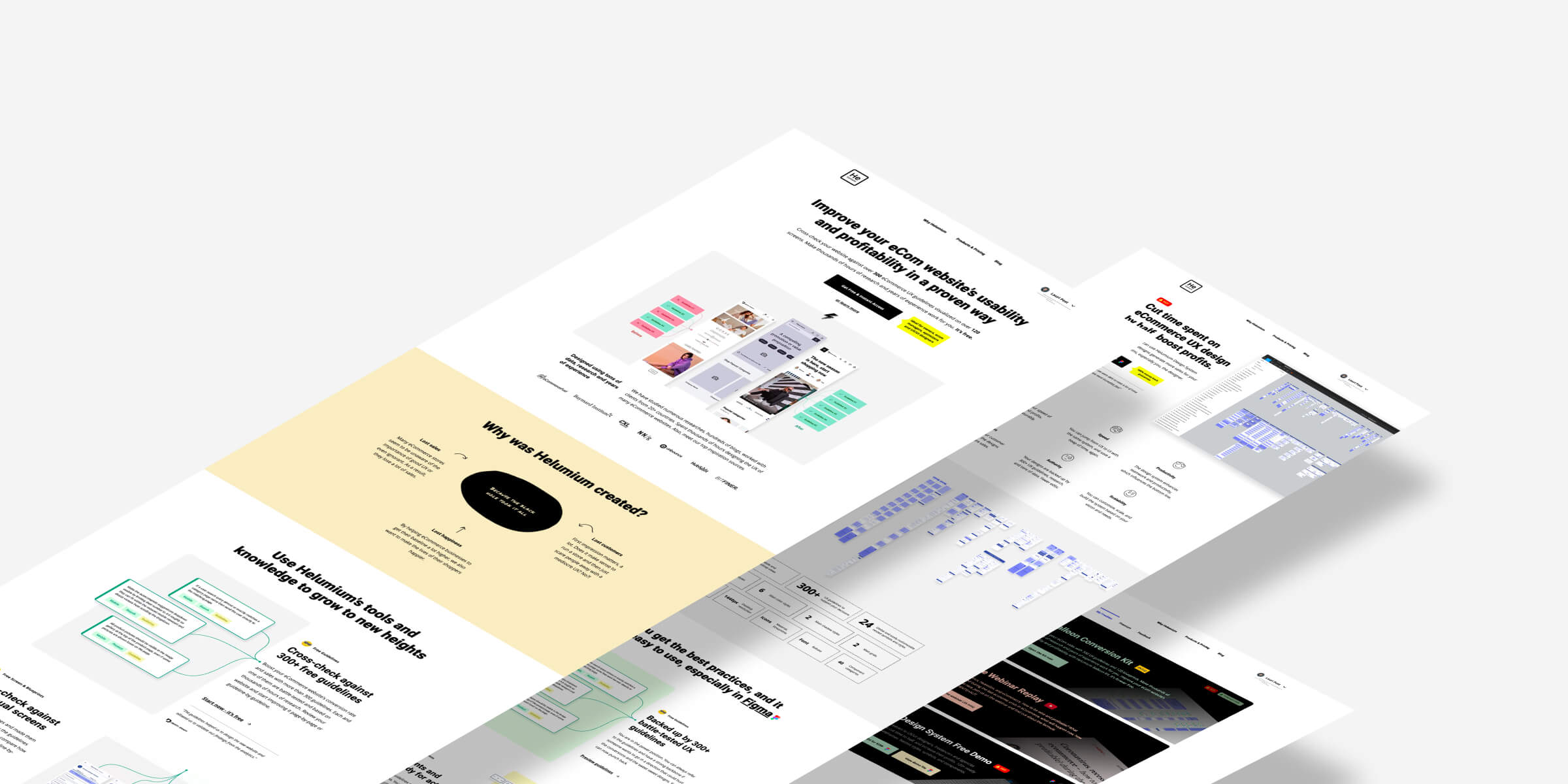 New stuff alert: Helumium's website was just updated and here's what's new