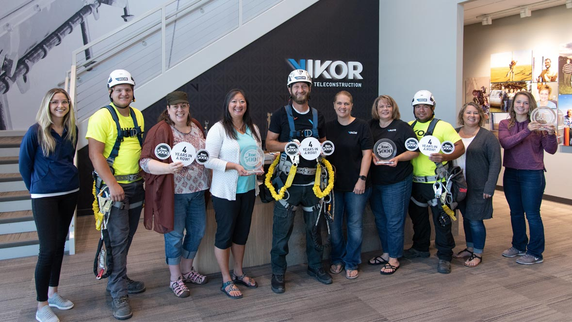 Vikor Sioux Falls Employees at Corporate Office