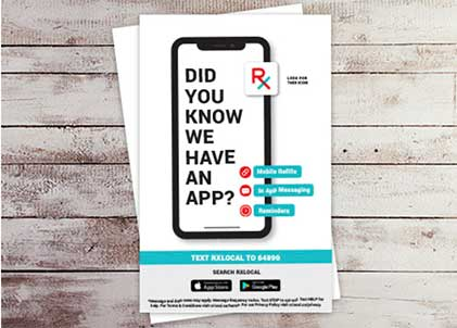 Image of RxLocal app advertising design #1