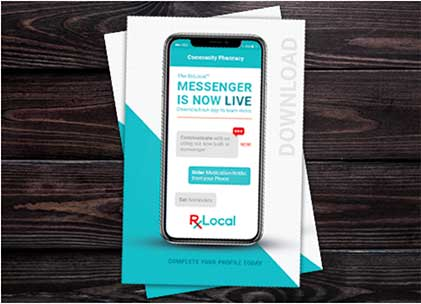 Image from RxLocal live messenger