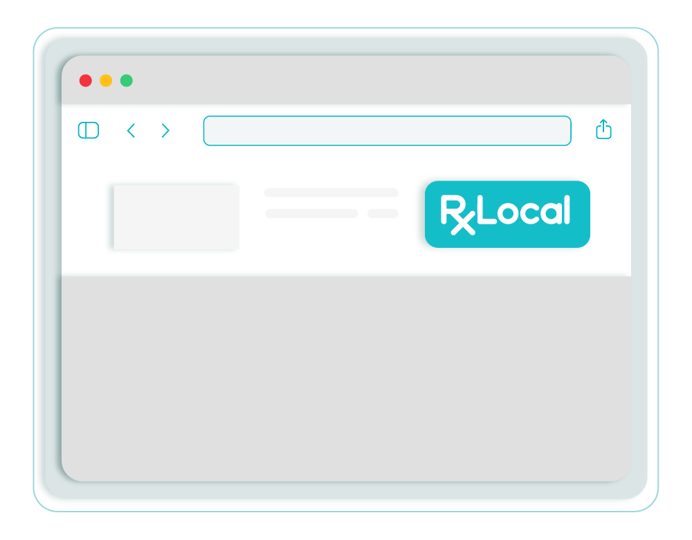Image of RxLocal buttons download