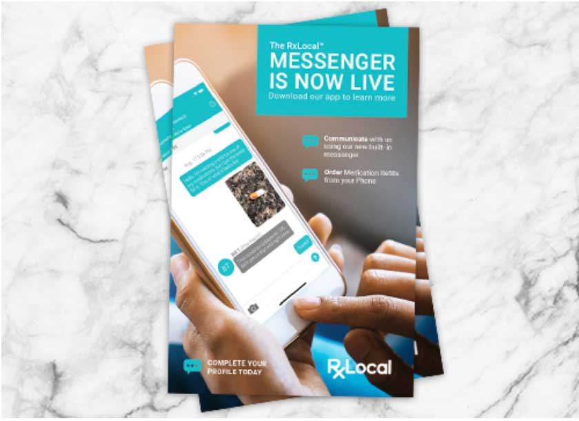 Image of live messenger add for RxLocal