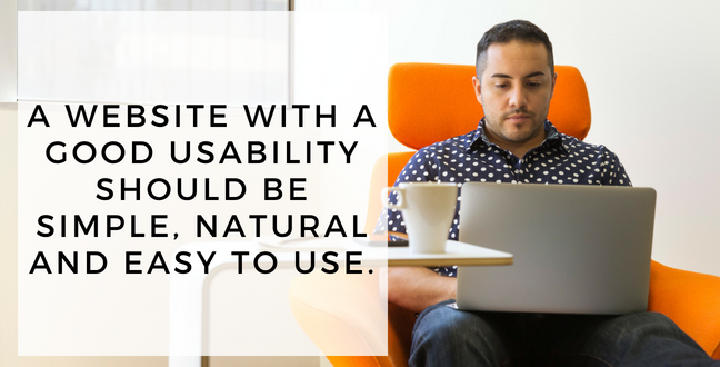 good website usability