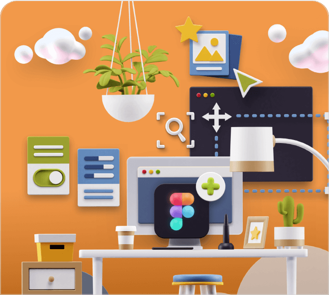 Build beautiful and impressive 3D workspaces in seconds.