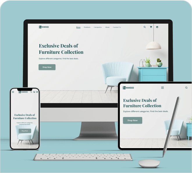 Enjoy this sophisticated furniture landing page for you to try.