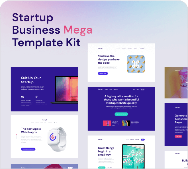 Startup Business Mega Template Kit