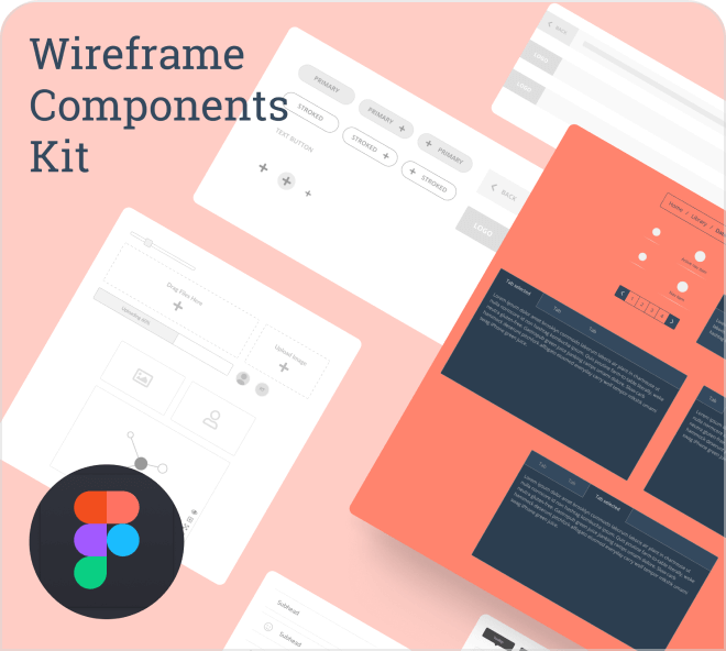 Build super clean wireframe with this free Figma wireframe template.