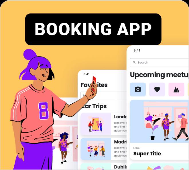 Booking App UI Kit