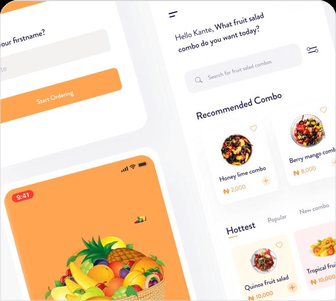Food Shopping UI Kit