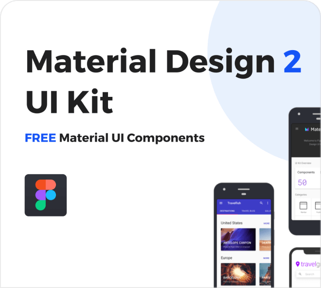 Build web designs using Google's Material Design elements.