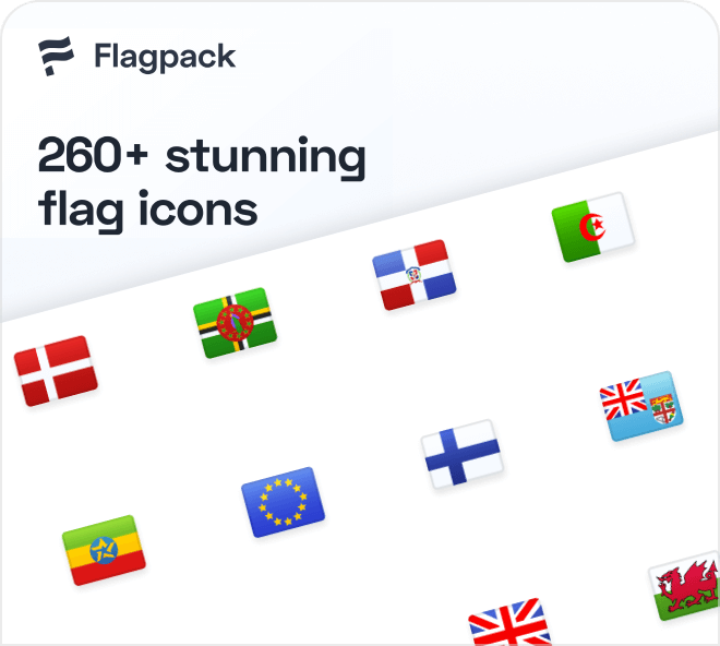 Get 260 free high quality flags from all the countries of the world.
