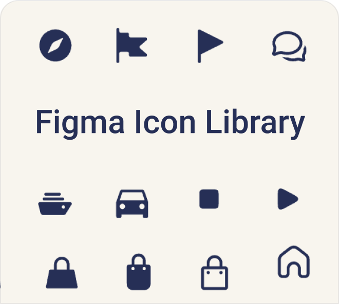 Thick and thin, bold and clean, grab this free Figma set of icons.