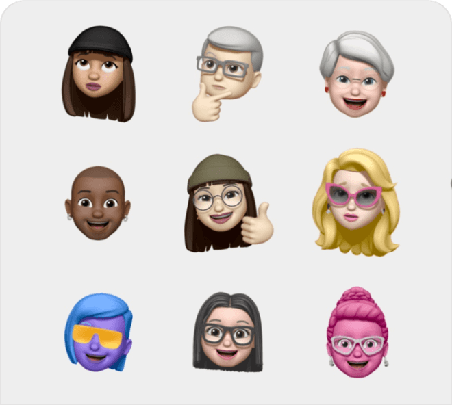 A adorable and cute set of Memojis for your use.