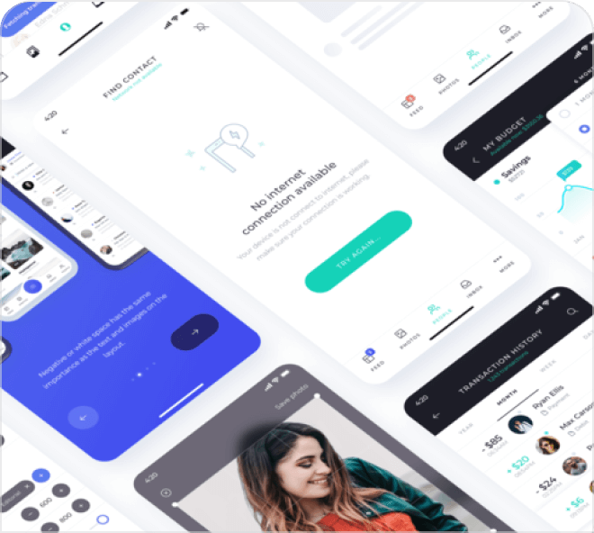 A clean and clever set of free Figma UI resources. Build your own designs with these elements.