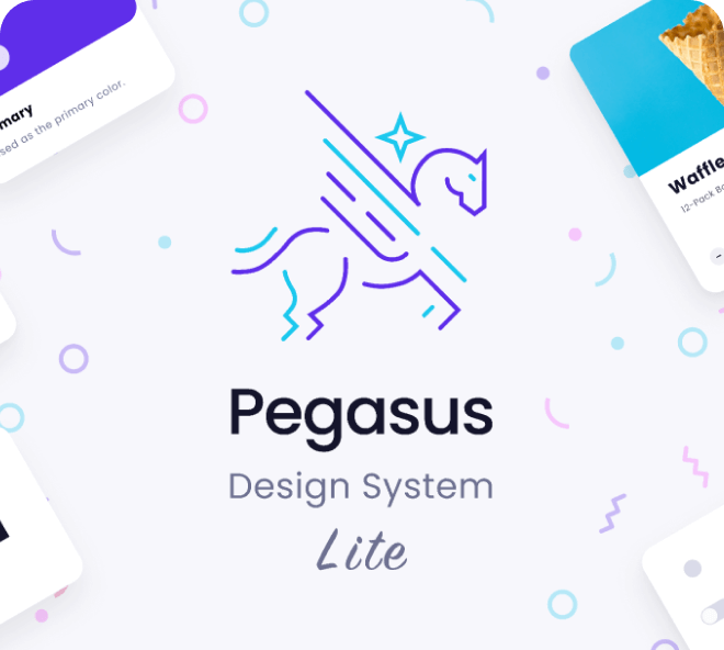 Create professional and clean apps and websites with the Pegasus Design System.