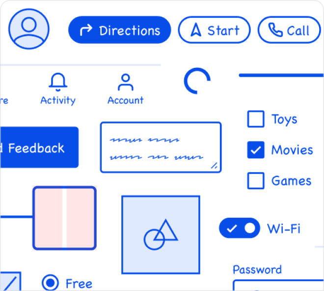Create fun and quality wireframes with this free Figma template.