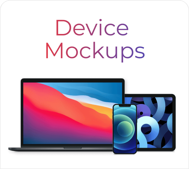 Free Figma vector mockups for you to build incredible interfaces insitu.