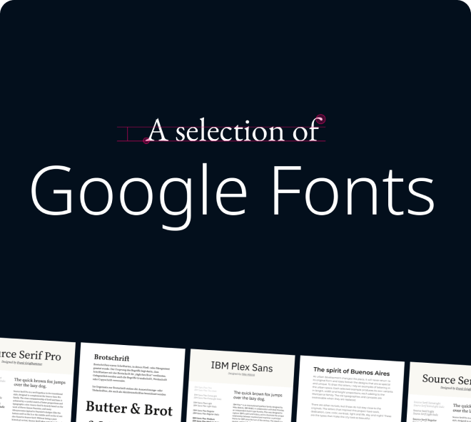 Truly quality fonts to use in your web and mobile UI designs.