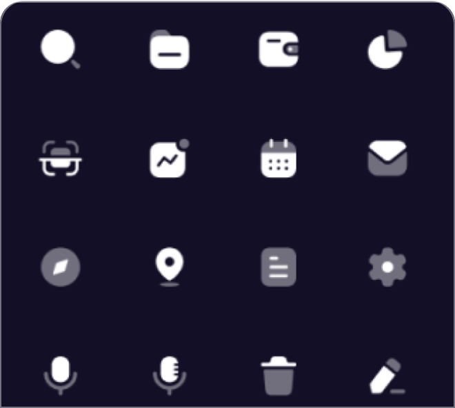 A huge pack of assorted high quality free Figma icons.