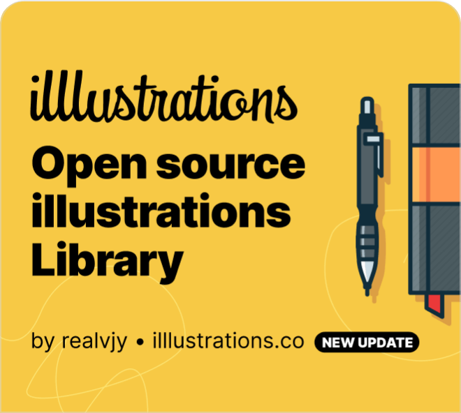 Really beautiful, really high quality and wonderfully stylized. Enjoy this free Figma illustration set for use in your designs.