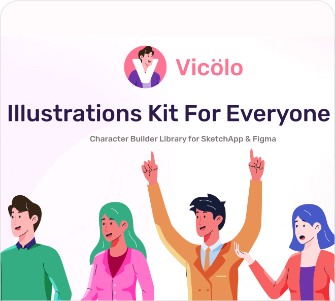 Access these amazing looking and super high quality character illustrations.